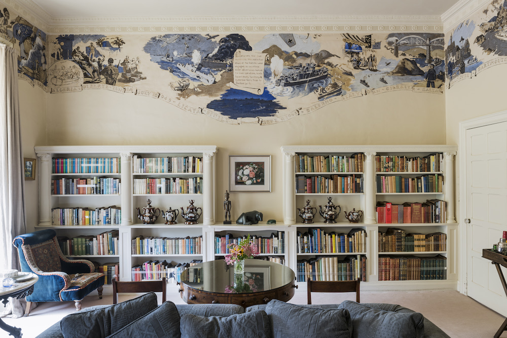 The Library at Greenway, Devon.