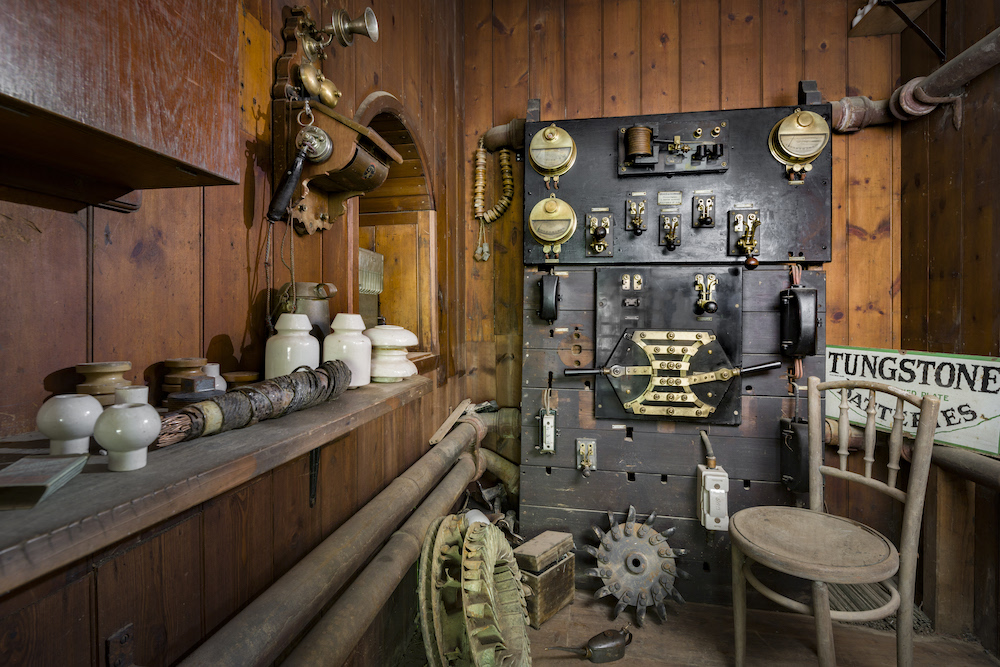Office of the Caretaker of the Electric Light at Cragside, Northumberland