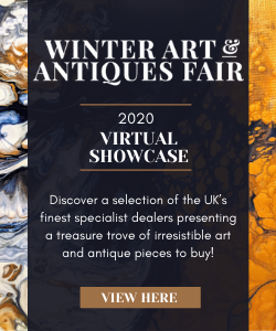 Winter Art and Antiques Fair advert