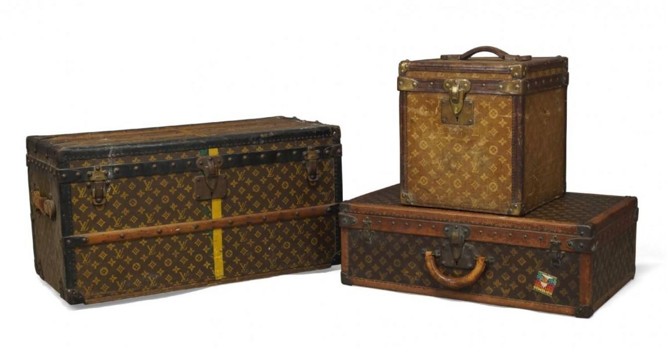 Louis Vuitton set of cases