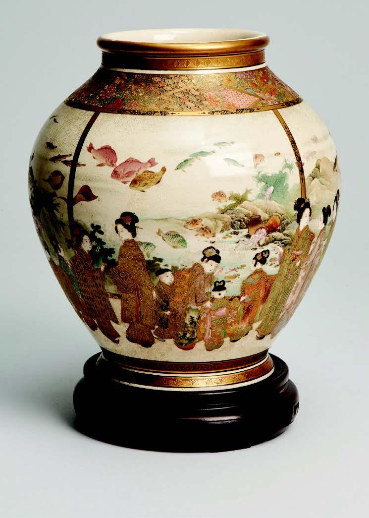 An interestingJapanese Meiji-periodvase signed Fuzan Ryun