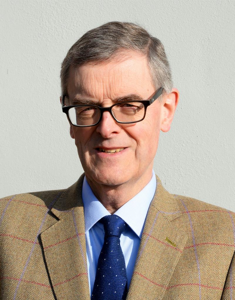 Auctioneer Nigel Kirk of Mellors and Kirk