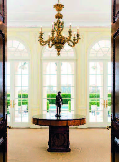The Palm Beach home of Mrs Henry Ford II