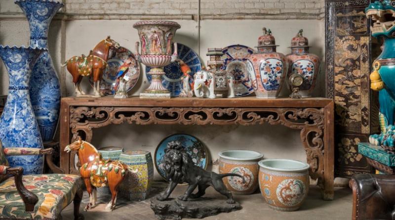 Antique items in Christie's Partick Moorhead sale