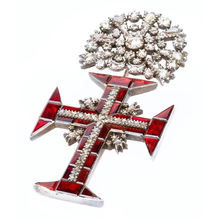 Antique Portuguese cross pendant