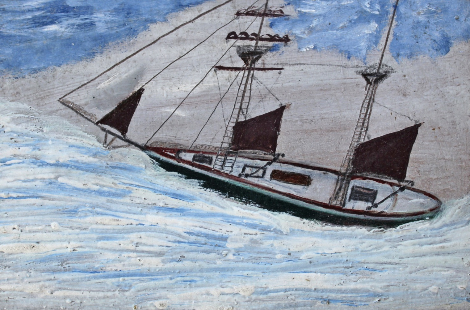 Painting by Alfred Wallis