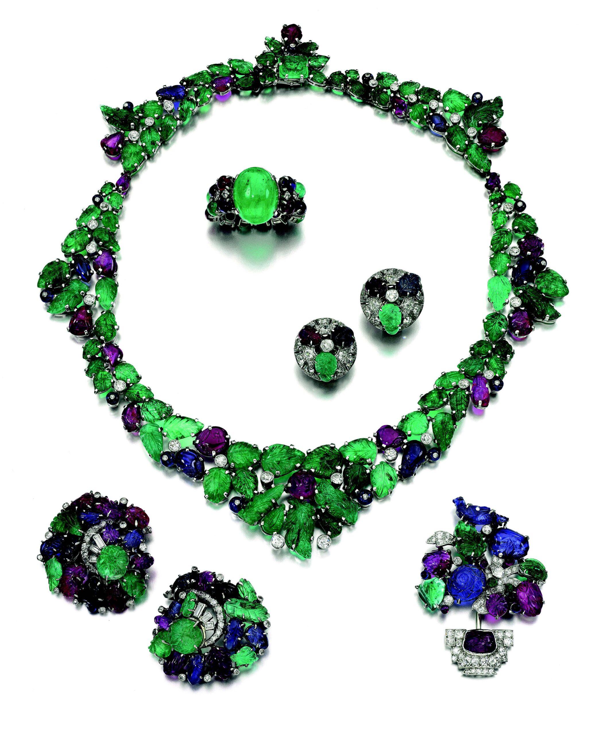 Tutti Frutti jewellery by Cartier