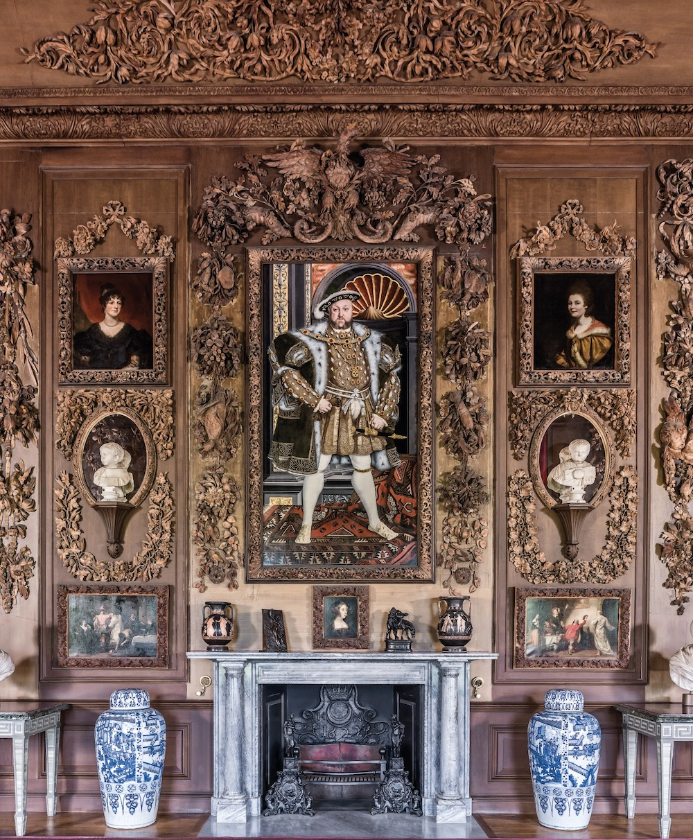 Wood carvings by Grinling Gibbons