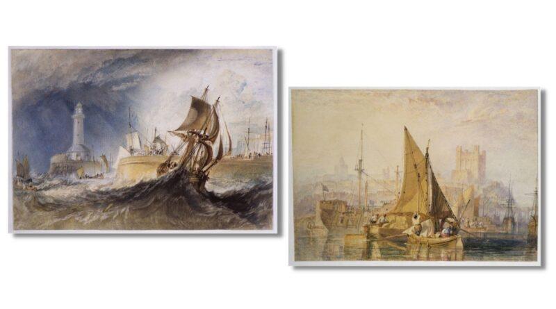 JMW Turner maritime paintings