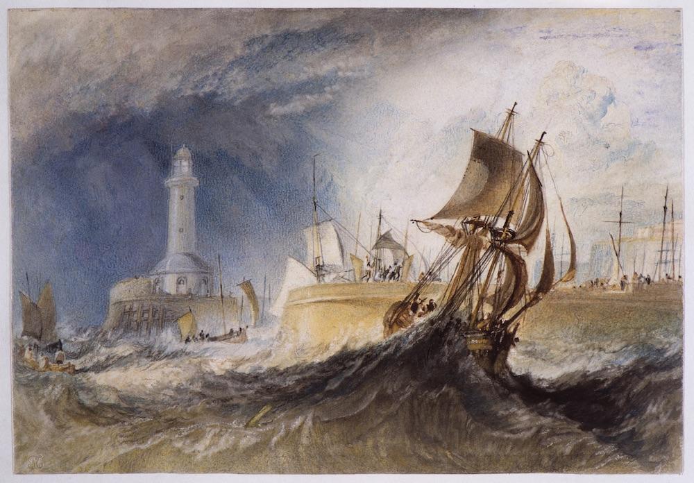 Ramsgate c.1824 Joseph Mallord William Turner Photo ©Tate