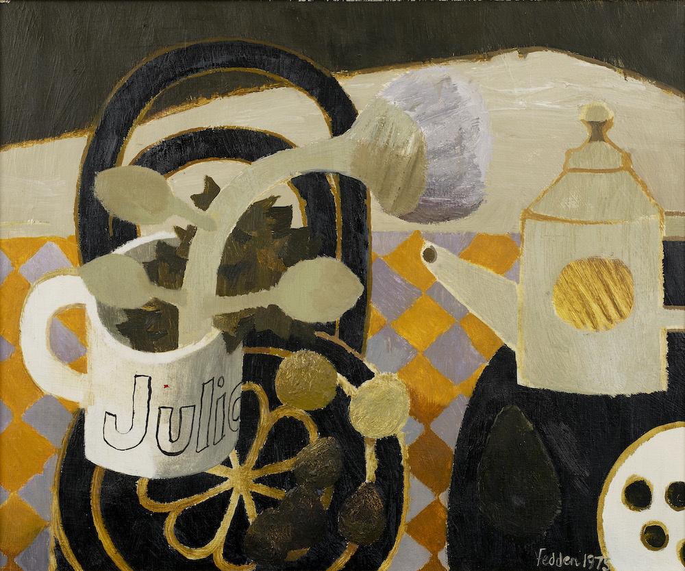 Mary Fedden O.B.E. R.A. R.W.A. (British 1915-2012) - Julian's Mug, 1975