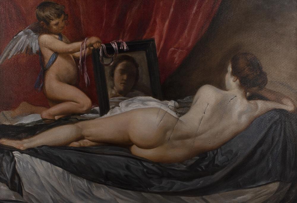 Nicholas Middleton copy of Toilet of Venus by Velasquez