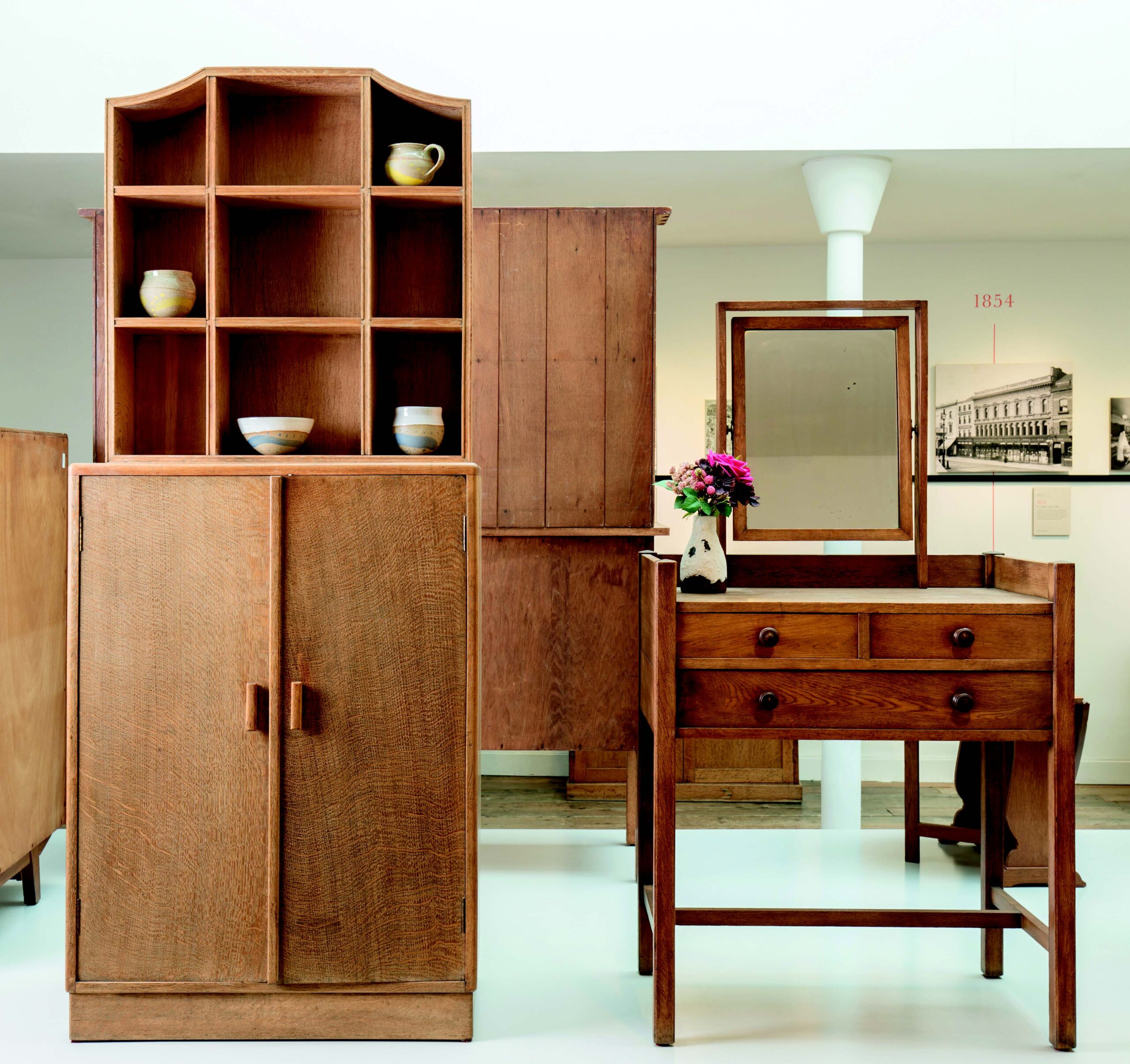 Limed oak furniture from Heal's