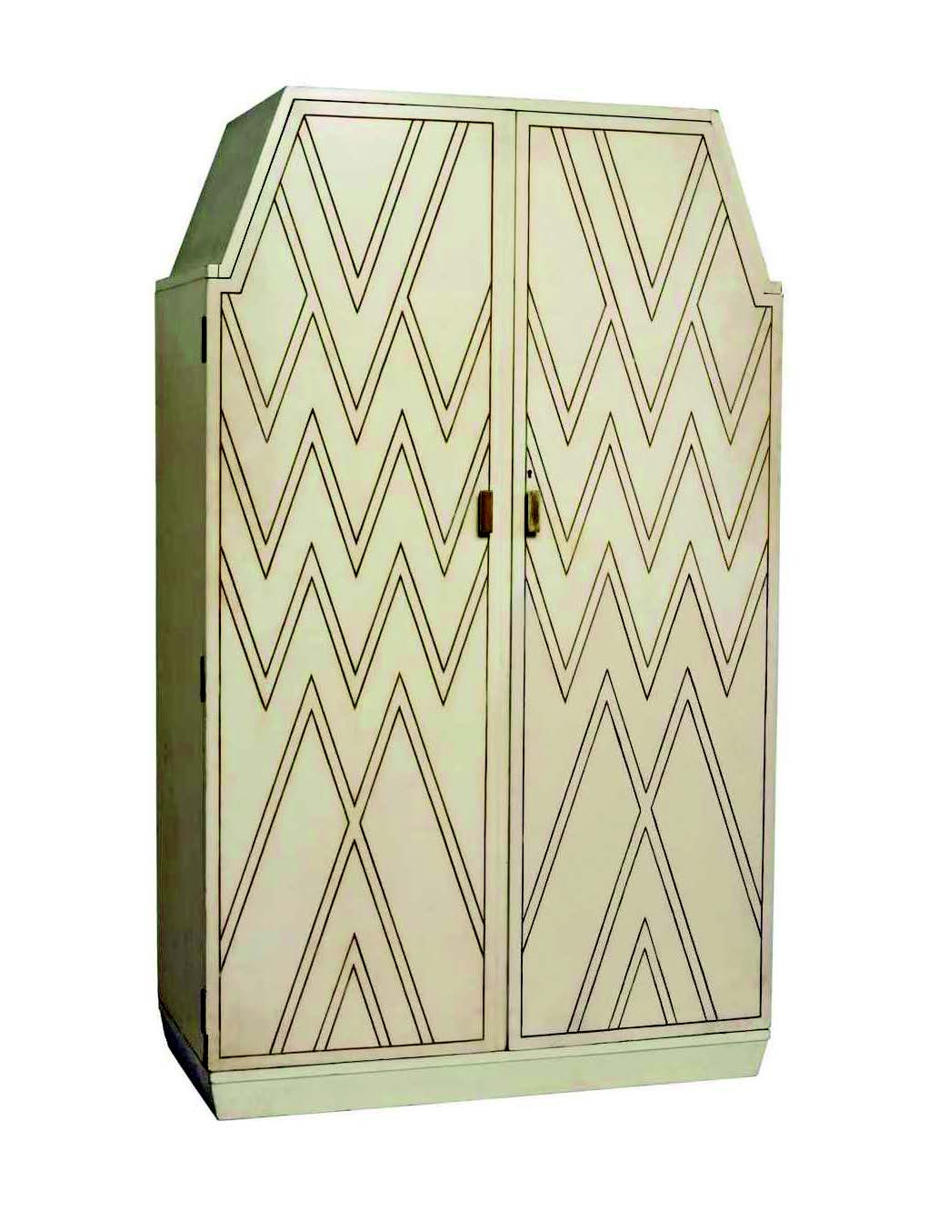 A Dodie wardrobe,designed by AmbroseHeal for his mistress,the author Dodie Smith