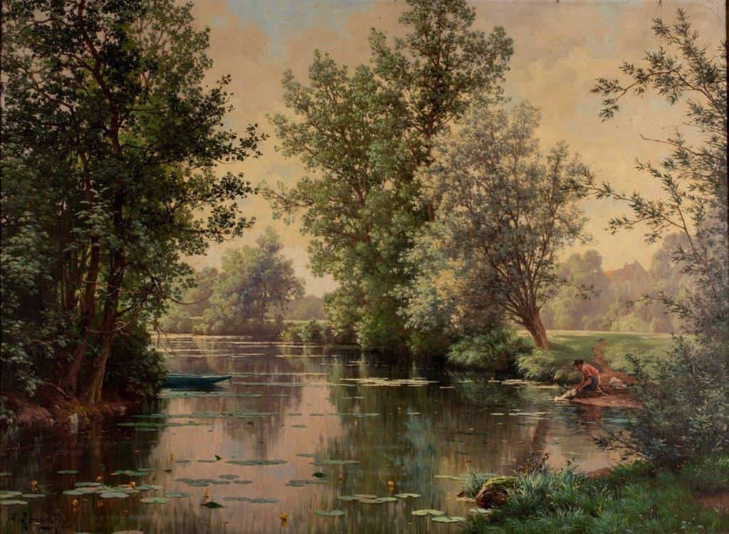 René Charles Edmond His landscape