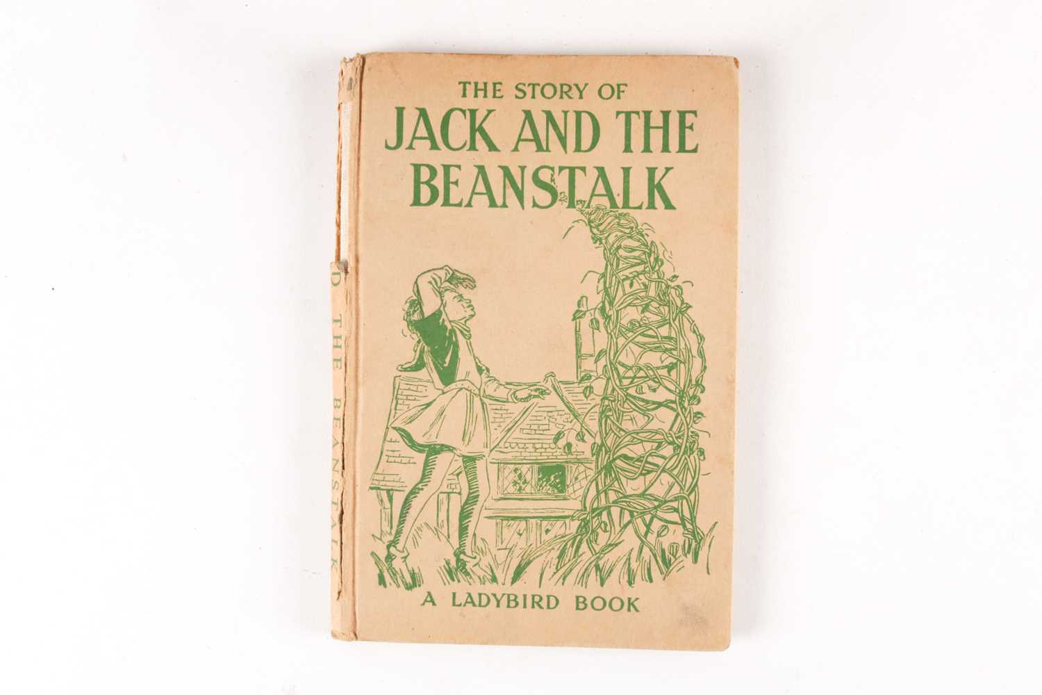 Princess Diana's childhood copy of The Story of Jack and the Beanstalk