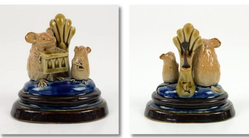 ceramic mice by George Timworth for Doulton