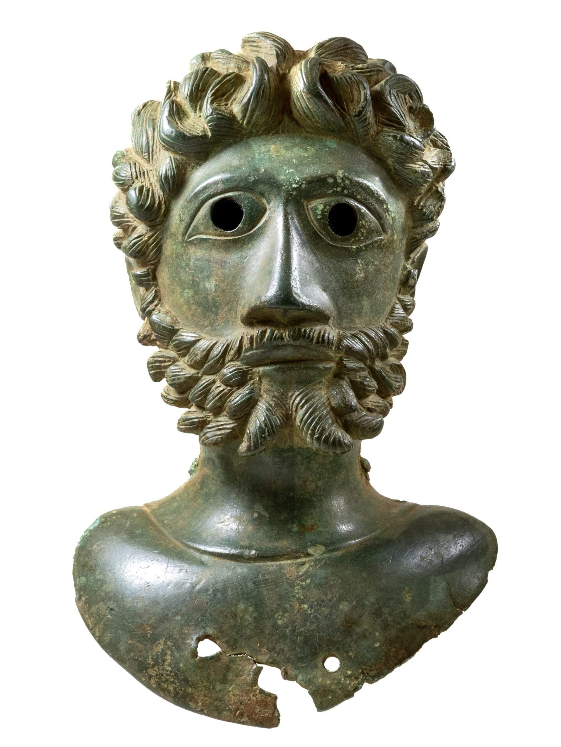 Bust of Roman Emperor Marcus Aurelius