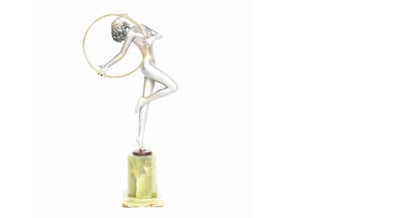 Josef Lorenzl art deco statue