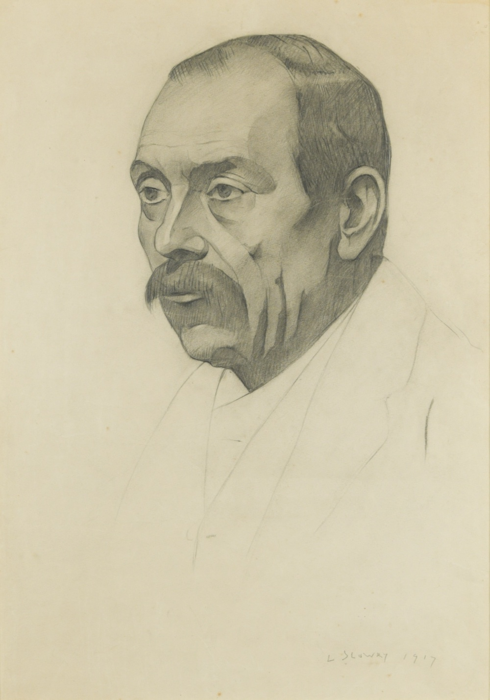 Portrait of a Man by Laurence Stephen Lowry