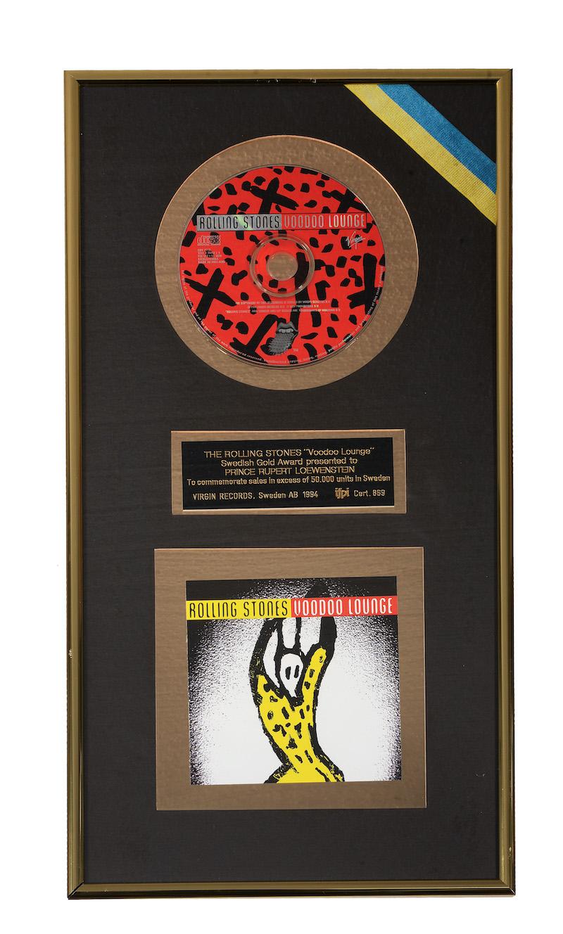 Rolling Stone Voodoo Lounge award