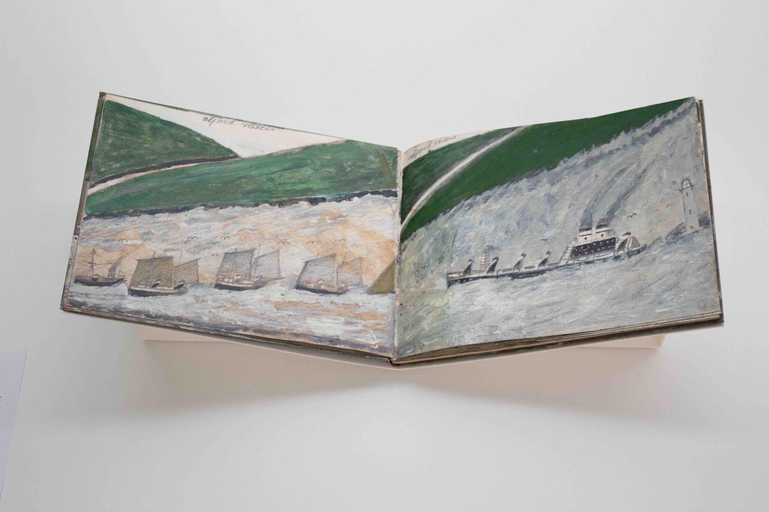 Alfred Wallis sketchbooks