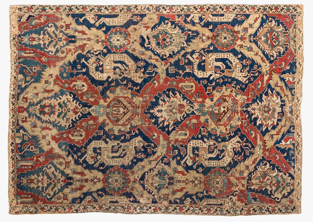 Max Lerch, Dragon Carpet, Caucasus, Late-17th century