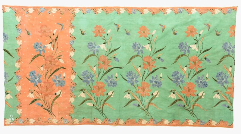 Rudolf Smend Gallery, Sarong signed by The Tie Siet, Pekalongan, Central Java, First half 20th century