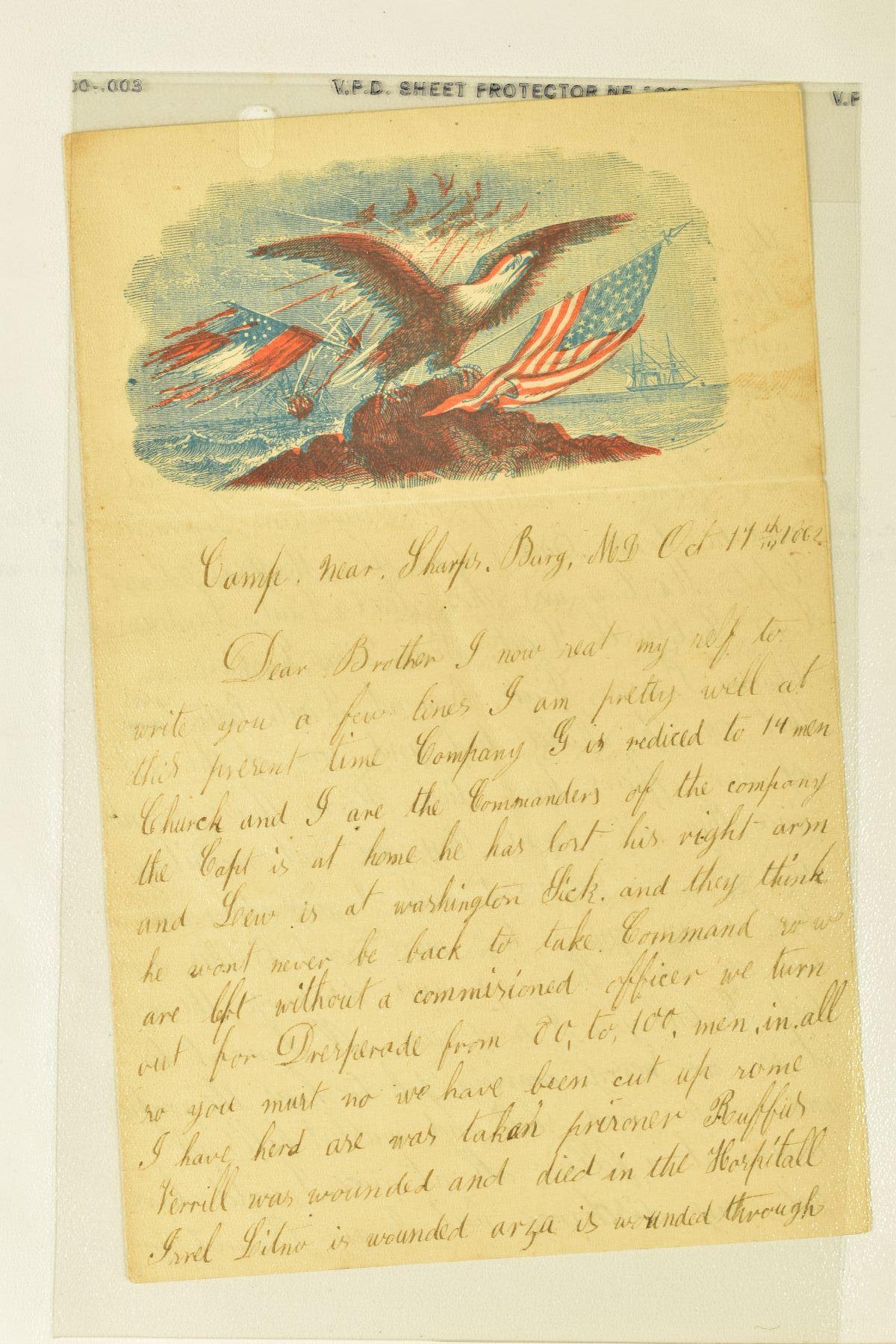 American Civil War letter