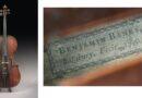 Benjamin Banks cello in sale