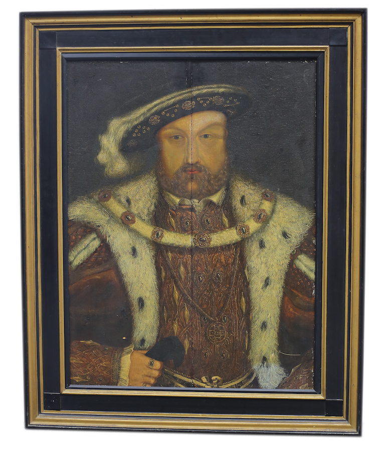 Portrait of King Henry VIII attributed to a follower of Holbein the Younger