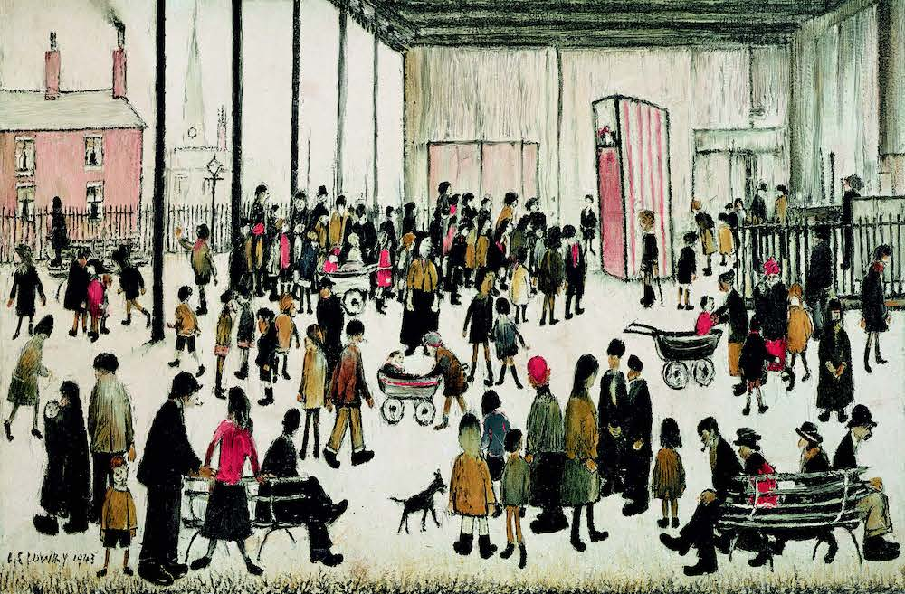 LS Lowry painting for the School Prints Series