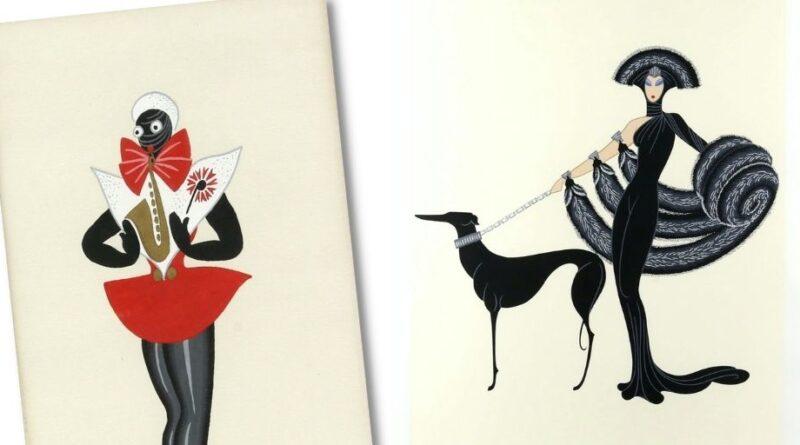 Illustrations by Erté