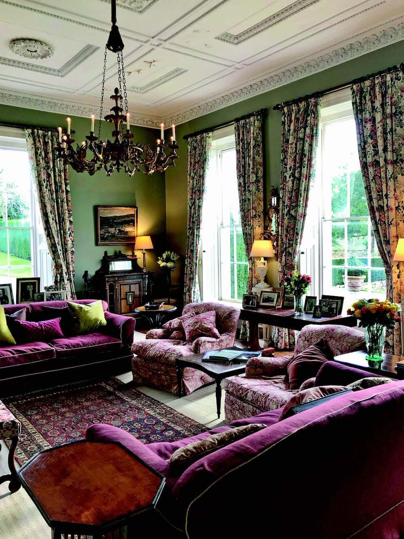 Items of Howard & Sons furniture in Wormington Grange
