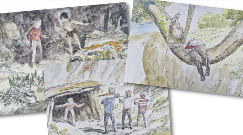 A selection of Jackanory illustrations