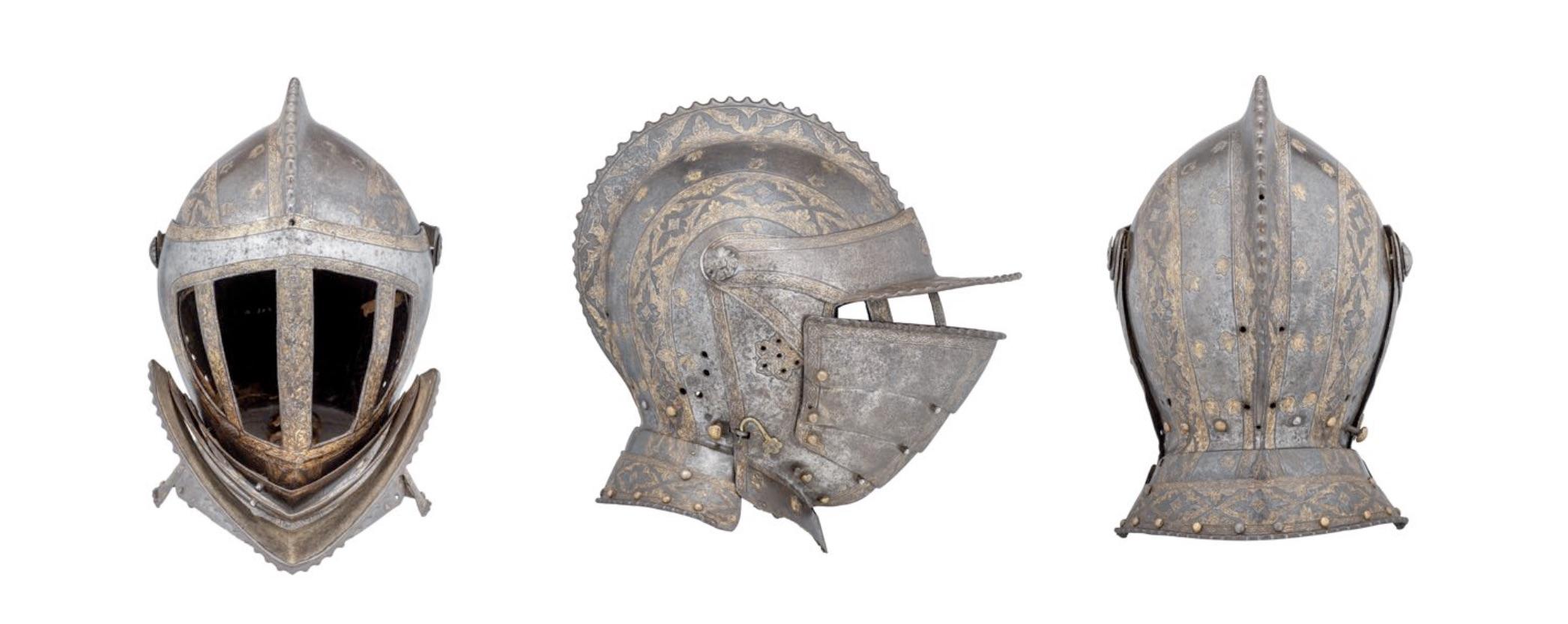 A Renaissance helmet