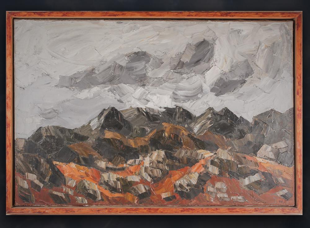 Sir Kyffin Williams landscape