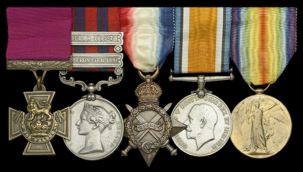 Victoria Cross medal group