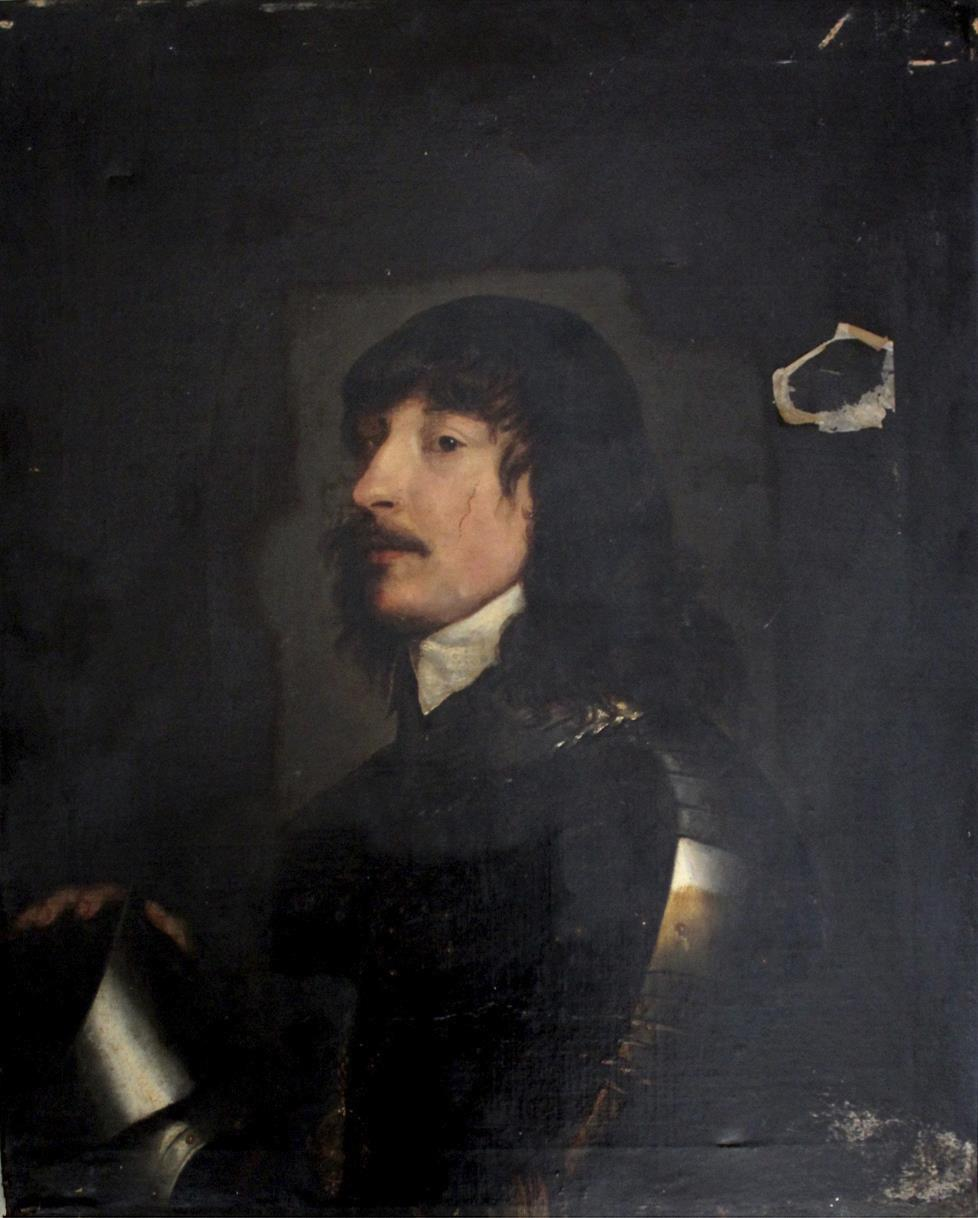 copy after Van Dyck of his depiction of James Stanley, 7th Earl of Derby