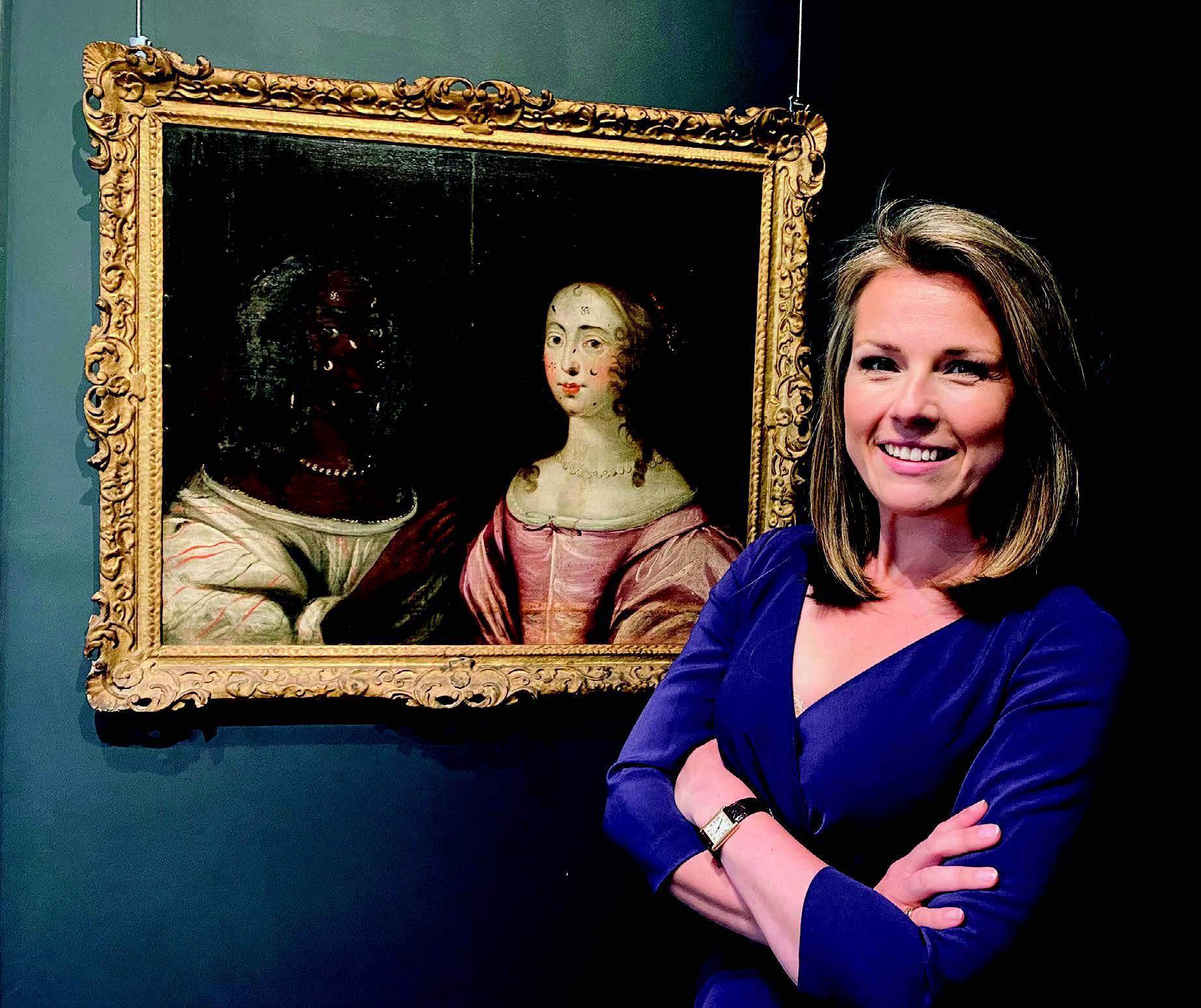 Christina Trevanion and a Cromwell era portrait of two women
