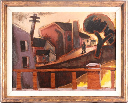 Josef Herman_The Little Street
