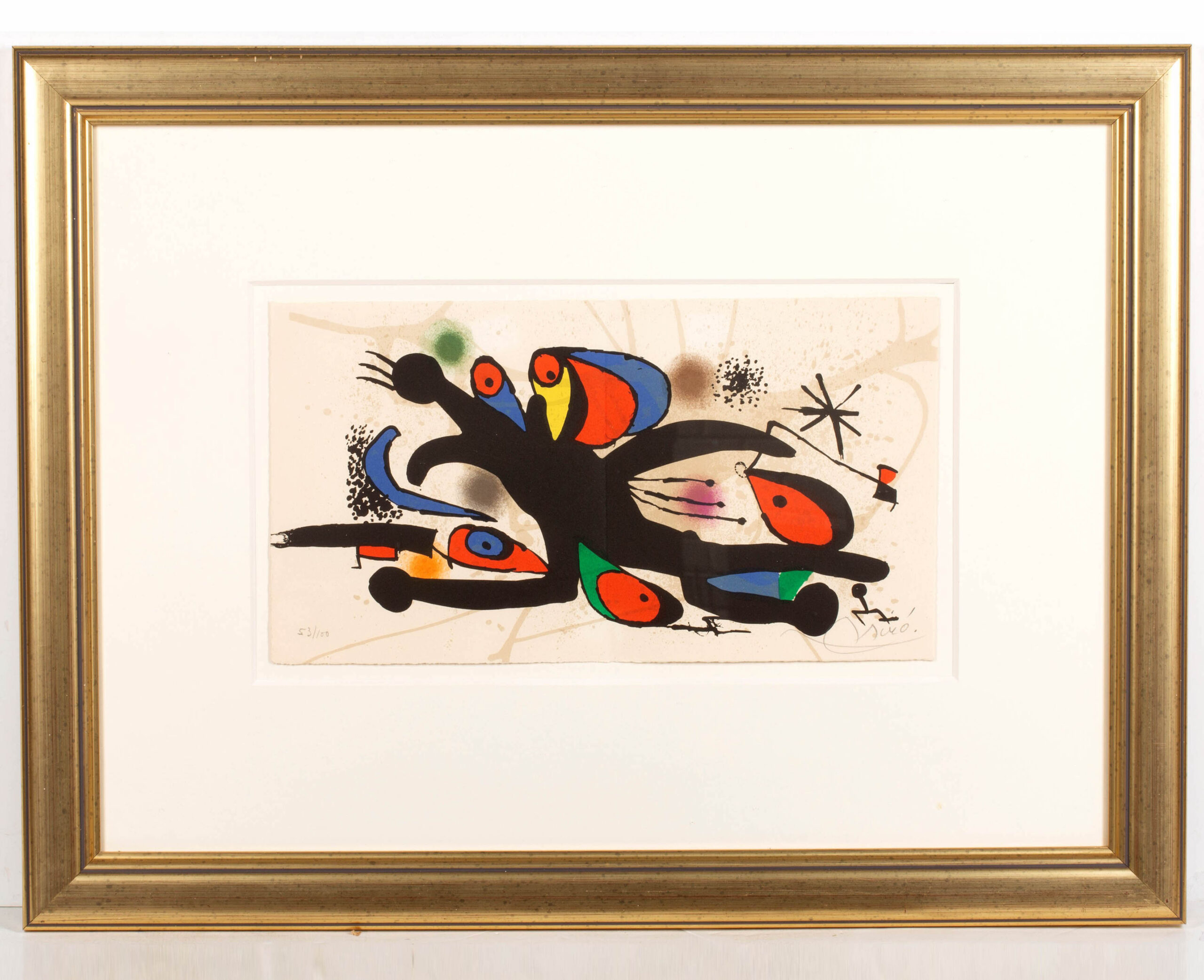 Joan Miro 'Grand Palais' lithograph