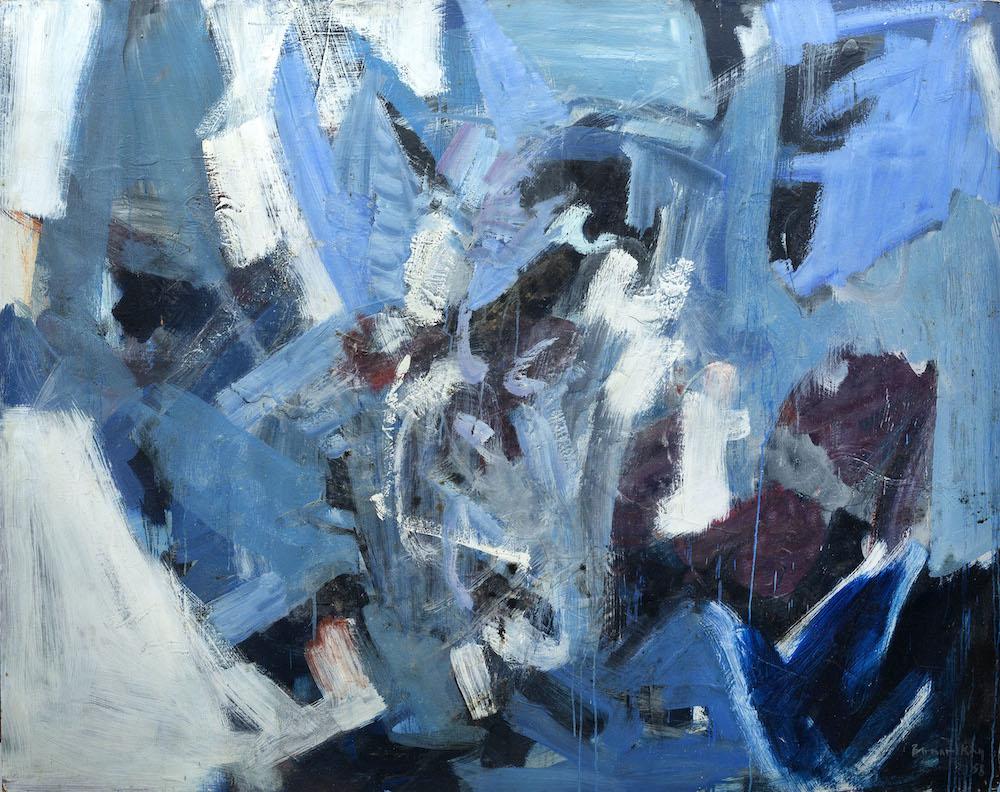 Bernard Kay Moon Pull Pale Blue - 1958