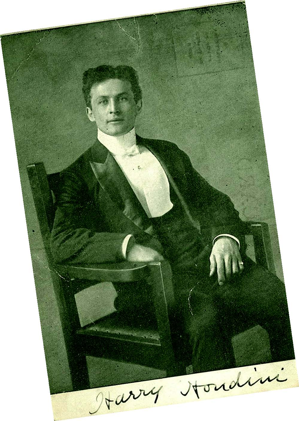 Images of Harry Houdini are popular with postcard collectors