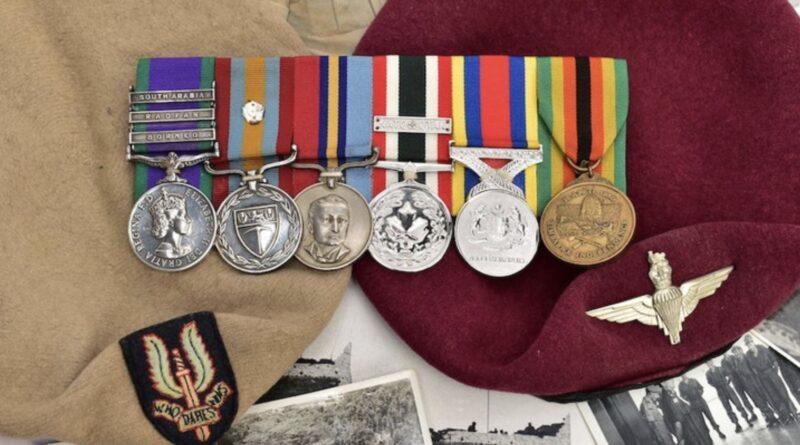SAS medal collection