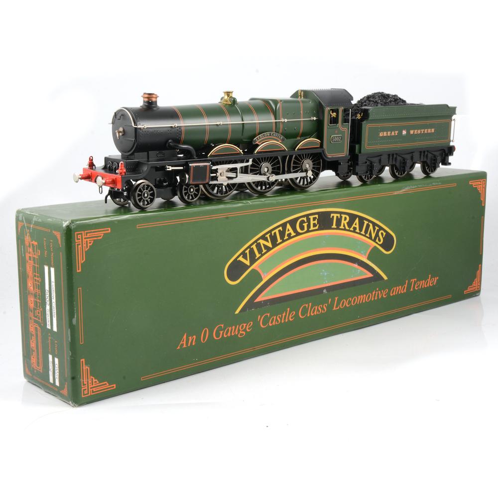 "O gauge Castle Class ""Ludlow Castle"" loco and tender"