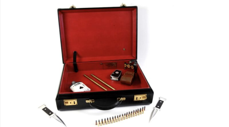 James Bond briefcase in Surrey sale