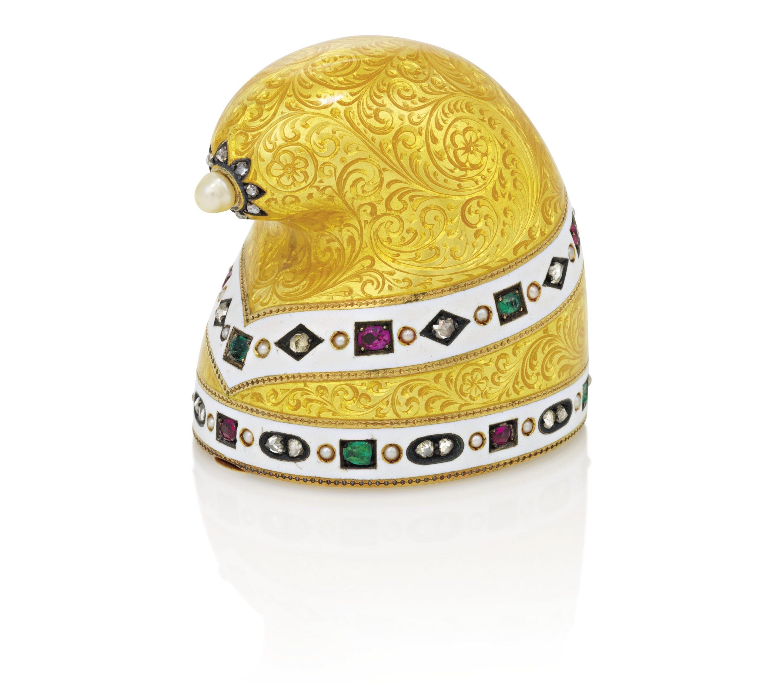 A doge's hat by Fabergé