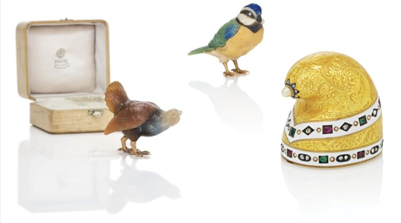 Fabergé collection in Christie's sale