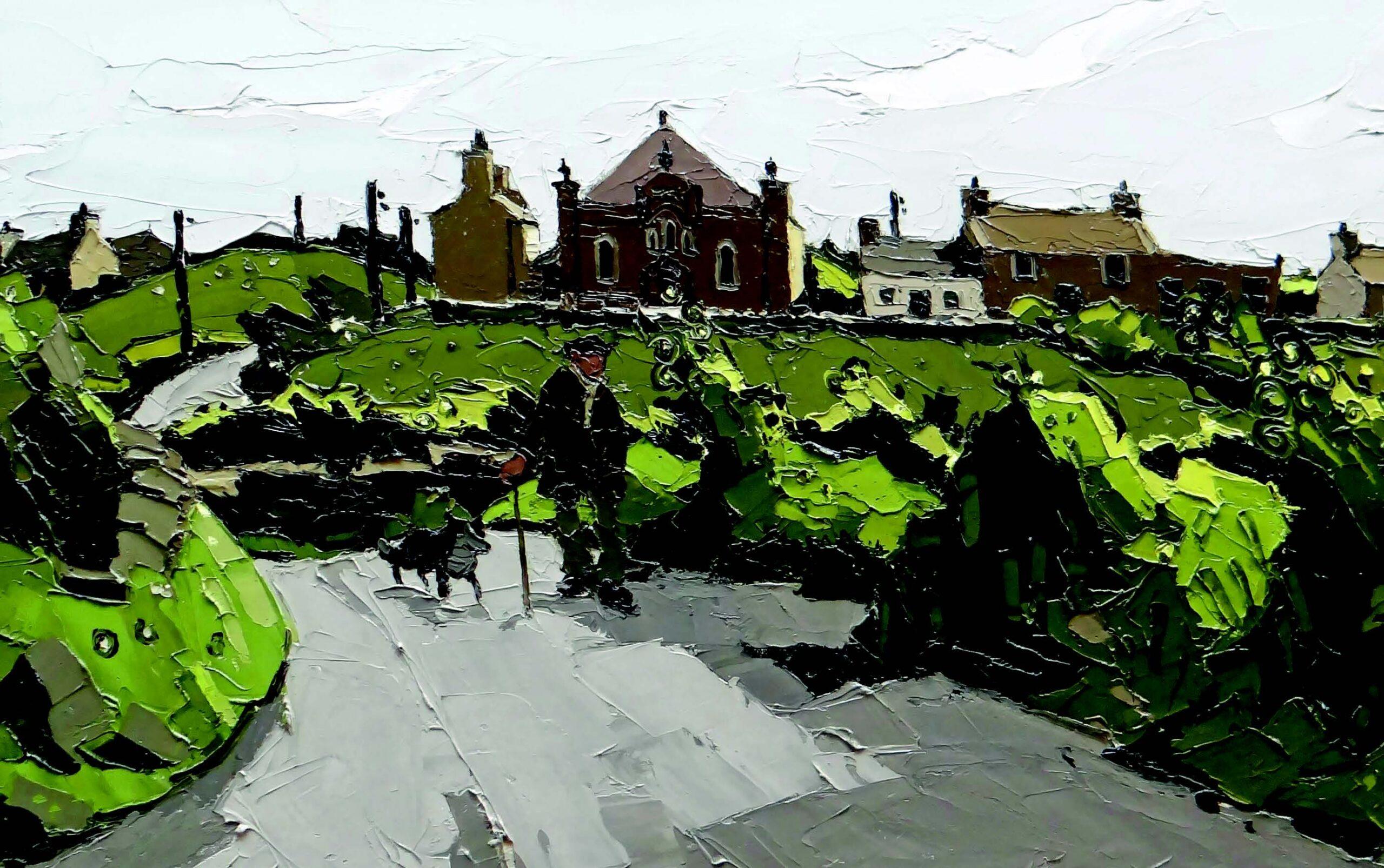 Sir Kyffin Williams' painting